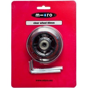 Ruota Micro PU 80 mm