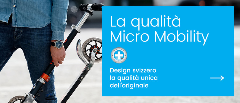 Micro Mobility - better urban lifestyle